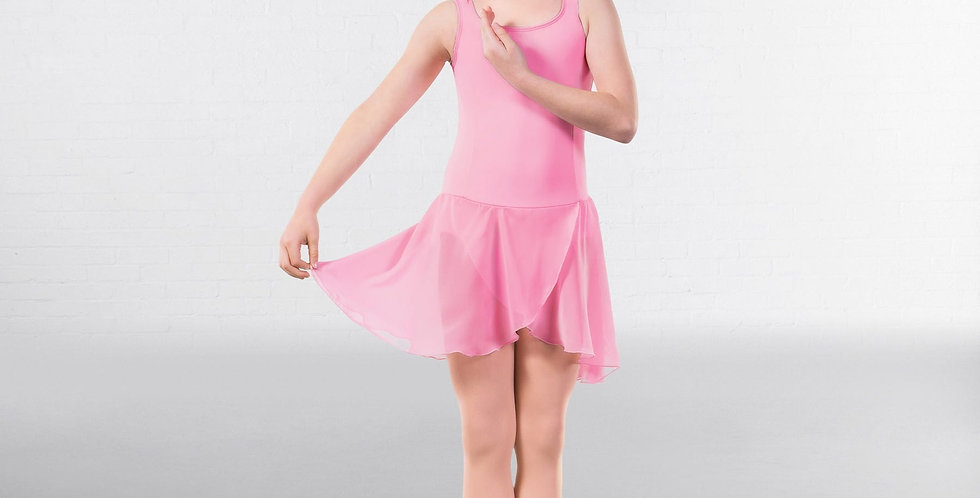 IDS RAD Approved Sophia Princess Lined Skirted Leotard  Style Code RAD001 Pink