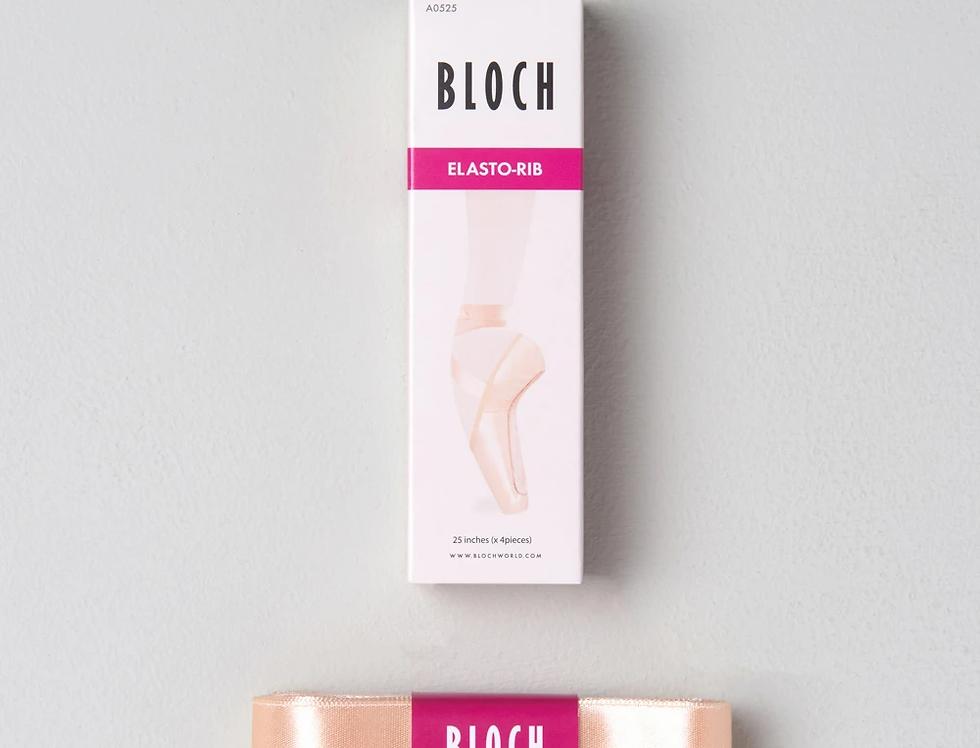 Bloch Elastorib Pointe Shoe Ribbon    Style Code A0525