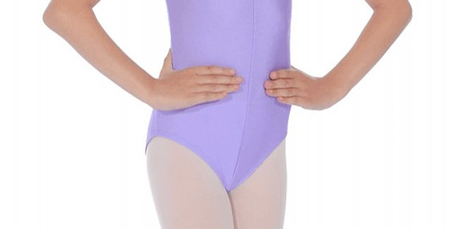 Tappers and Pointers Sleeveless  Leotard  Style Code Leo/2 Lilac