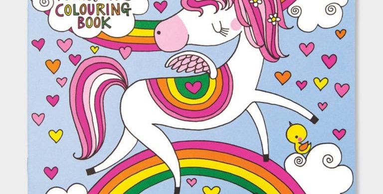 Rachel Ellen Unicorns and Rainbows Colouring Book Style Code SQCBK19