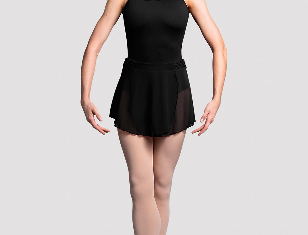 Bloch Ladies Maeve Fixed Wrap Skirt Style Code R9821 Black