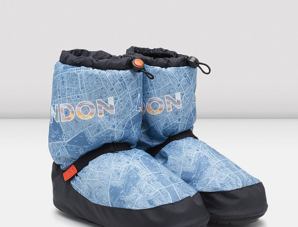 Bloch London City Map Multi-function Warm Up Booties Style Code IM019CM