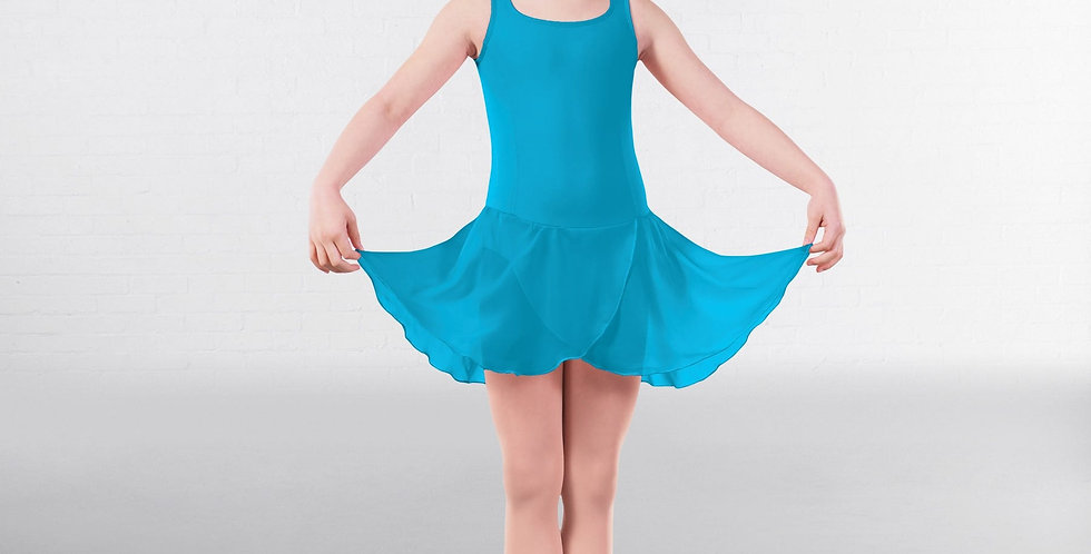 IDS RAD Approved Sophia Princess Line Skirted Leotard Style Code RAD001 Marine