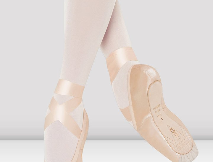 Bloch Triomphe Suede Toe Cap Pointe Shoes  Style Code S0139L