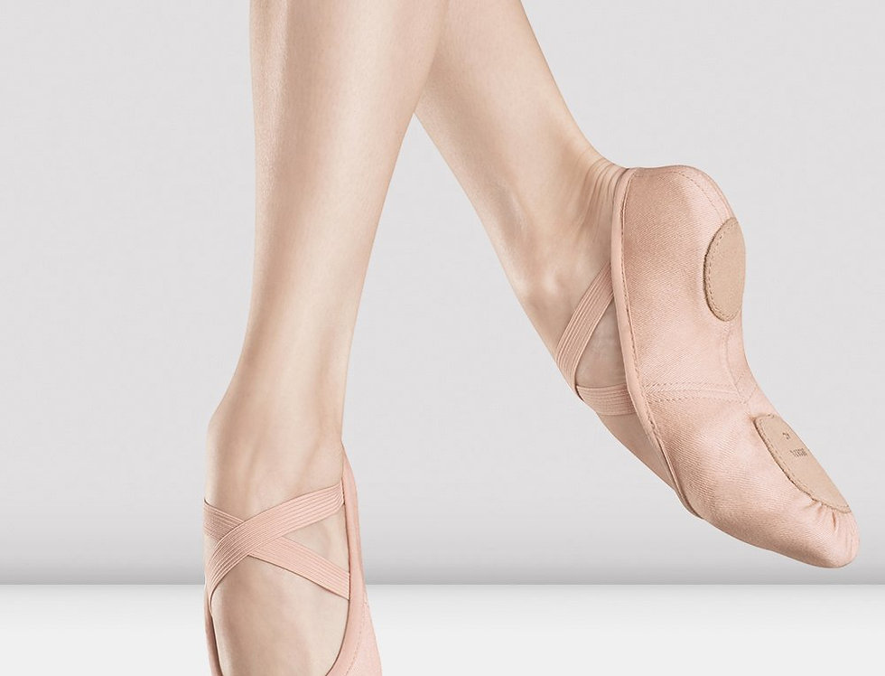 Bloch Zenith Childrens Stretch Canvas Ballet Shoes    Style Code S0282G