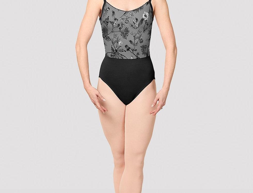Mirella Ladies Jasmine Print Camisole Leotard Style Code  M4038LM