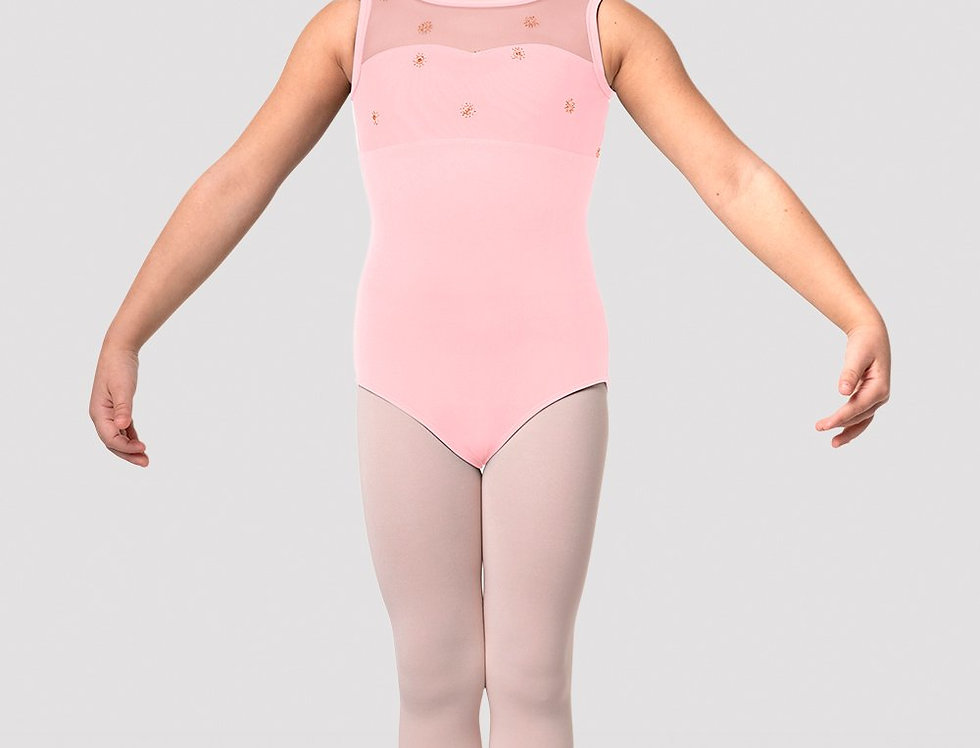 Bloch Girls Chiarra Open Back Tank Leotard Style Code CL3165