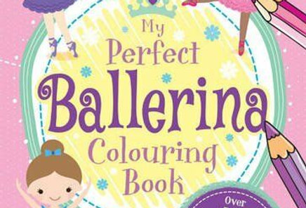 IDS Ballerina Colouring Book Style Code UG580