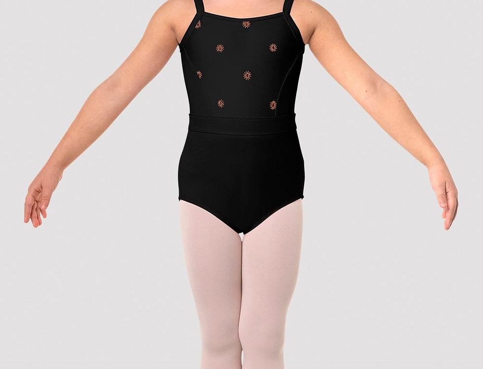 Bloch Girls Nicolina Camisole Leotard Style Code CL5787 Black