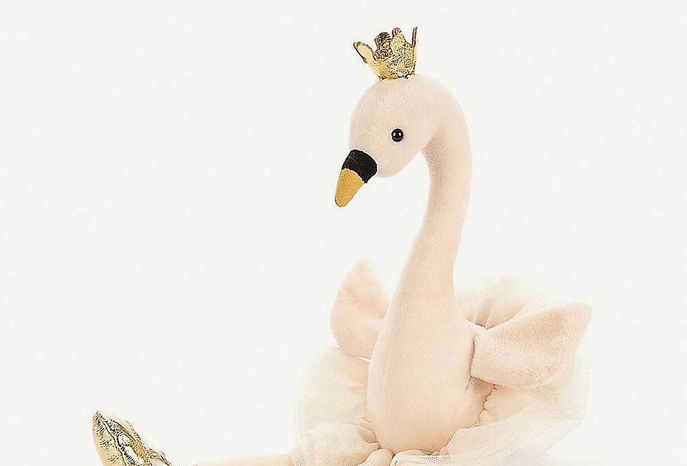 Jellycat - Fancy Swan  Style Code FA2LS