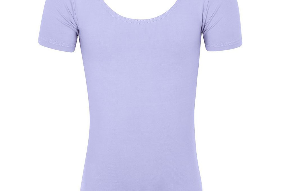 Freed RAD Chloe Cotton Short Sleeve Leotard     Style Code Chloe/C  Lilac