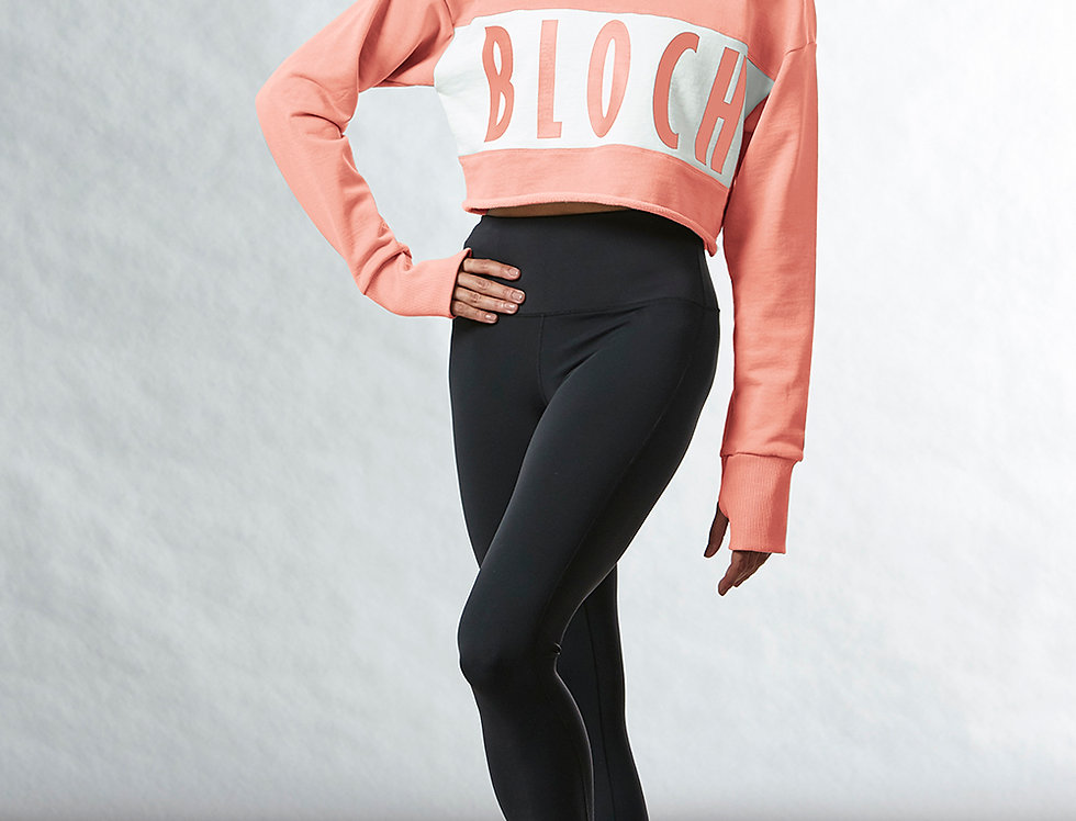 Bloch Adults Oversize Crop Logo Sweatshirt  Style Code FT5188