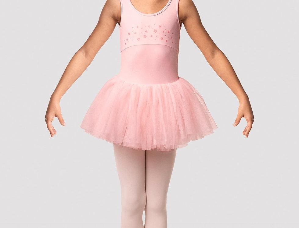 Mirella Girls Flower Burst Tank Tutu Dress Style Code M471C Pink