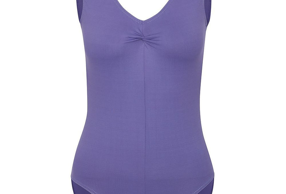 Freed Faith in Meryl Ruche Front Leotard  Style Code FaithLM