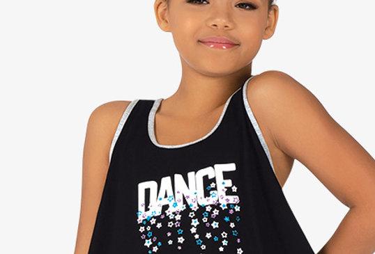 "Bloch Childrens ""Dance"" Contrast Trim Tank Dance Top Style Code KA046T"