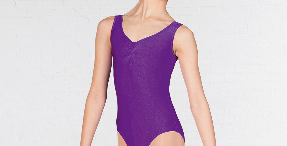 IDS 1st Postion Ruched Front Leotard  Style Code Q2AN- Angela