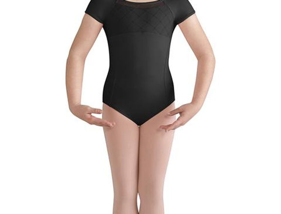 Bloch Childrens Brielle  Mesh Back Cap Sleeve Leotard   Style Code CL9932