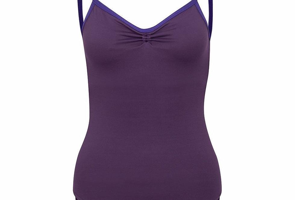Freed Alice in Cotton Camisole Leotard Style Code Alice/C Purple