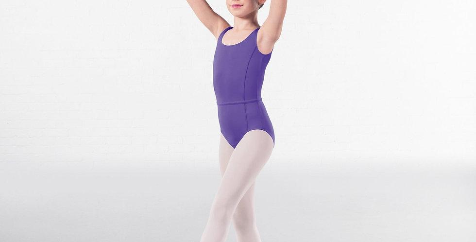 IDS Megan Princess Line Front Sleeveless Leotard Style Code RAD003 Lavender