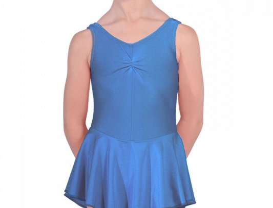 Tappers and Pointers Junior Skirted Leotard   Style Code Junior Skirted Royal