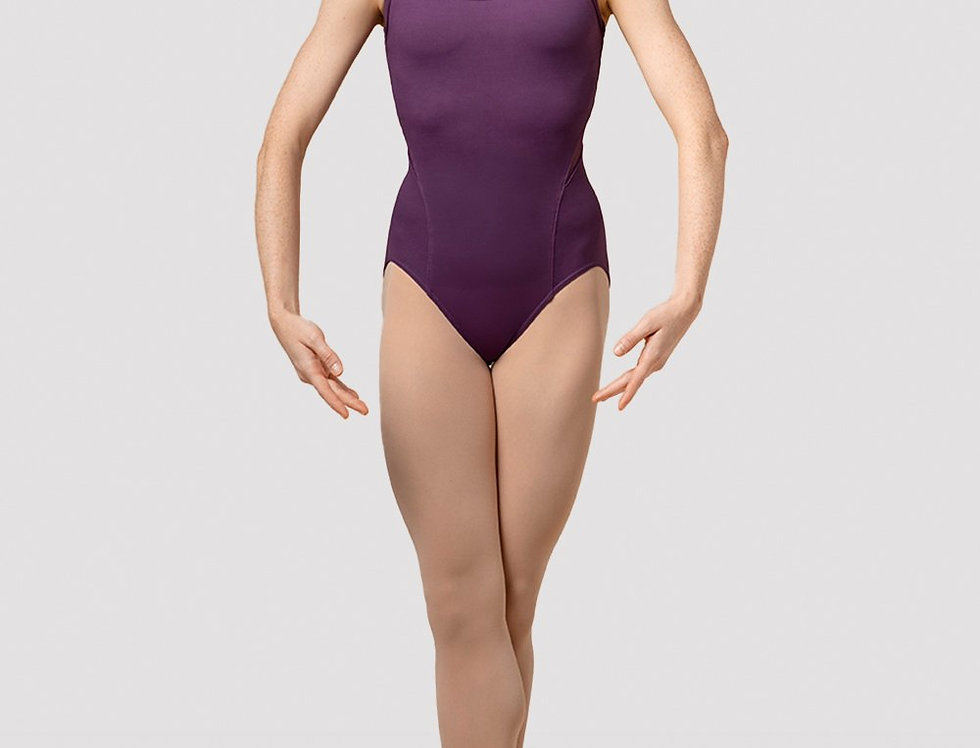 Mirella Ladies  Splice Camisole Leotard Style Code M4042LM Purple