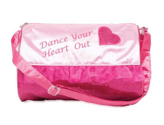 Capezio Heart Barrel Bag Style Code B210