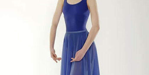 Little Ballerina Chiffon Skirt Style Code CHIFROY