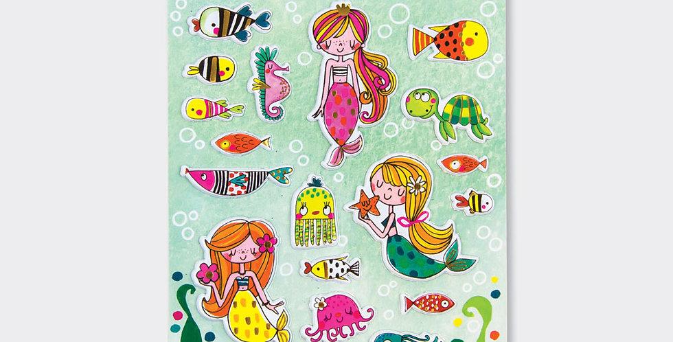 Rachel Ellen Puffy Stickers Under The Sea Style Code PUFFSTIC5