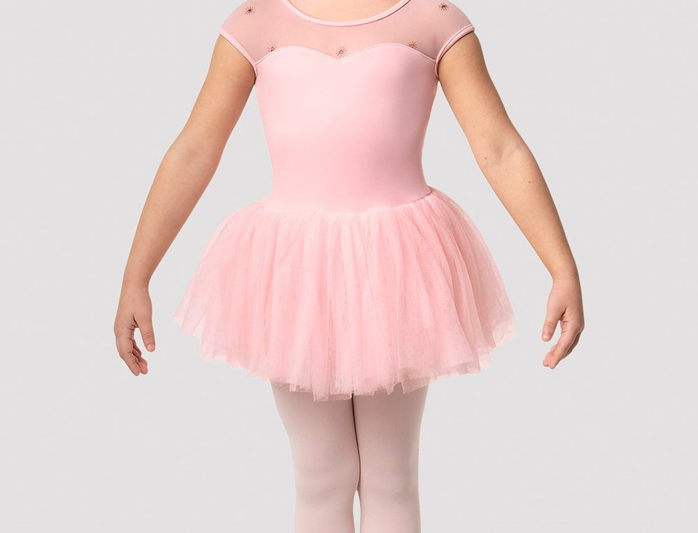 Bloch Girls Duchess Cap Sleeve Tutu Dress Style Code CL3122