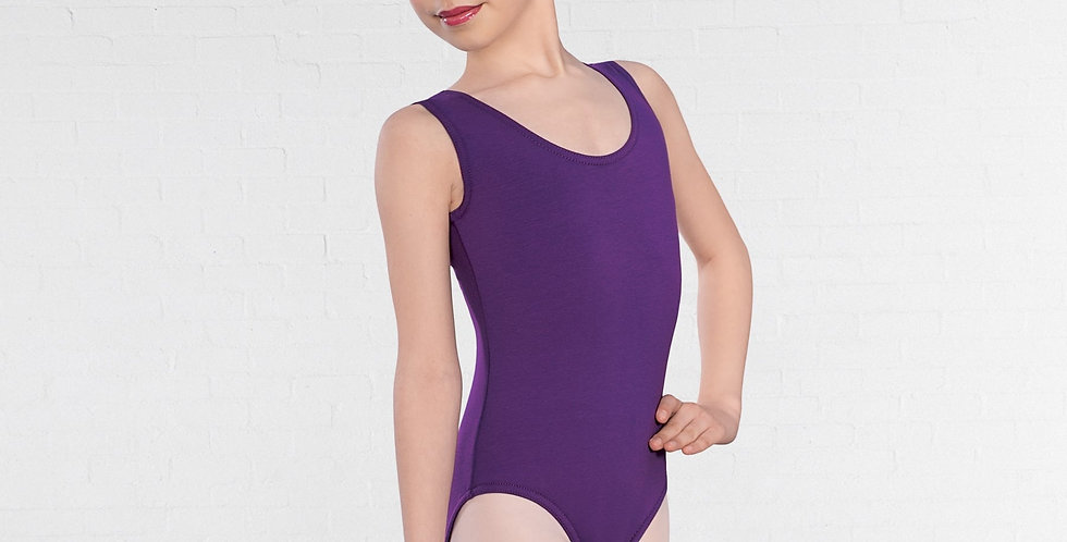 IDS 1st Position Sleeveless Plain Front Leotard Style Code Q13 Laura