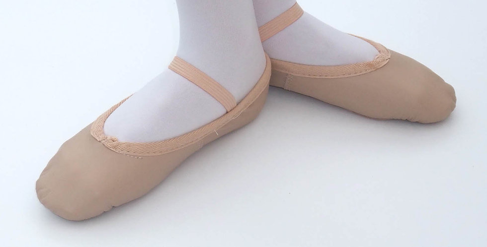 Tappers and Pointers Adults Wide Leather Ballet Shoe Style Code WPLSS