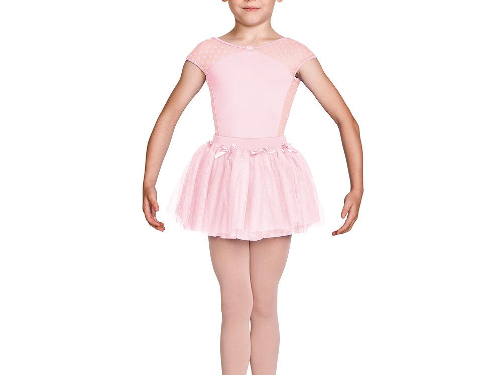 Mirella Childrens Tutu Skirt with bow motifs   Style Code MS139C