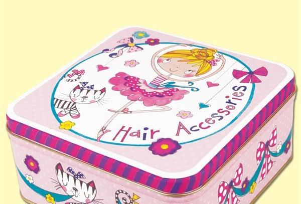 Rachel Ellen Hair Accessory Tin Style Code MSQTIN5