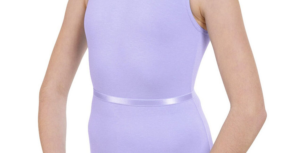 Tappers and Pointers Cot/1 Plain Fronted Leotard  Style Code Cot/1 Lavender
