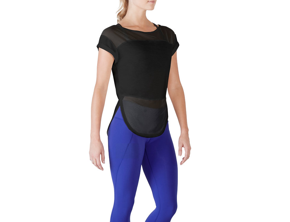 Bloch Adults Mesh panel Top Style Code FT5019