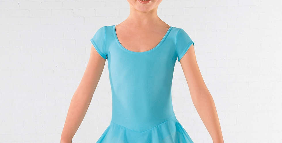 IDS Cap Sleeved Skirted Leotard  Style Code ISTD09