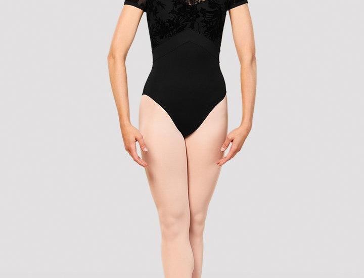 Bloch Ladies Eliana Mesh Back Cap Sleeve Leotard Style Code L7892