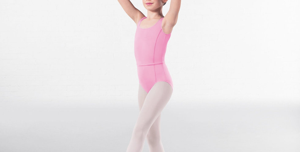IDS Princess Line Front Sleeveless Leotard Style Code RAD003 Megan Pink0