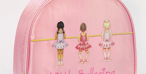 Little Ballerina Satin Vanity Case Style Code VC001