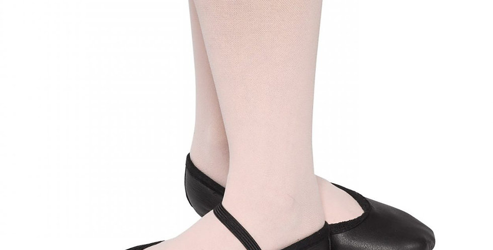 Tappers and Pointers Adult Wide Full Sole Ballet Shoe Style Code CA-W/BLSS