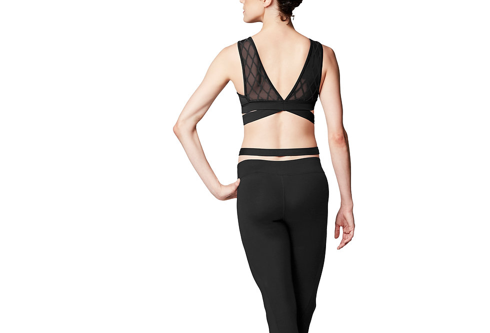 Bloch Adults Criss Cross Stirrup Dance Leggings   Style Code  FP5061