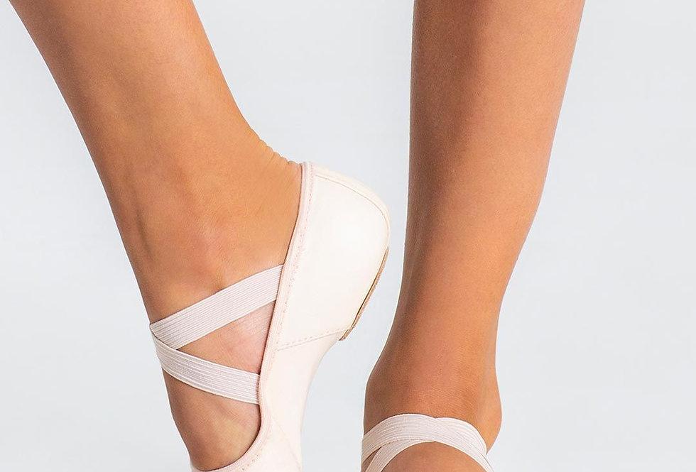 Capezio Adults Hanami Leather Split Sole Ballet Shoe Style Code 2038W