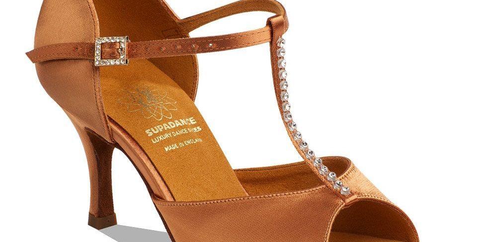Supadance Ladies Latin Sandal Stiletto Heel  Style Code 1127