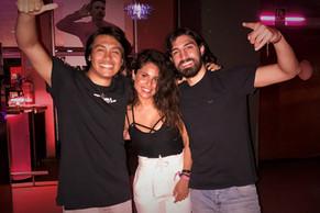 Nikita Salou team: Leo, Sandra & Pelu!