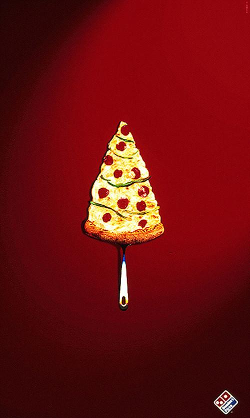 Domino's Seasonal Branding