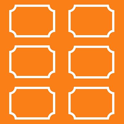 Palm Springs Wallpaper Orange