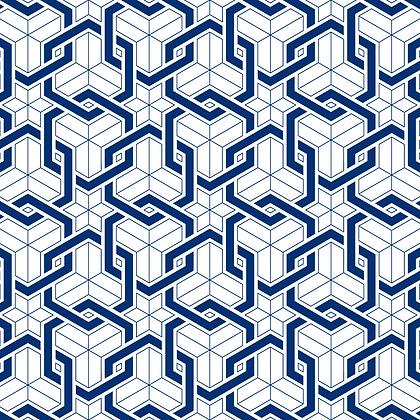 Links Fabric Navy
