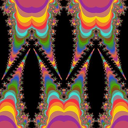 Psychadellic Fabric