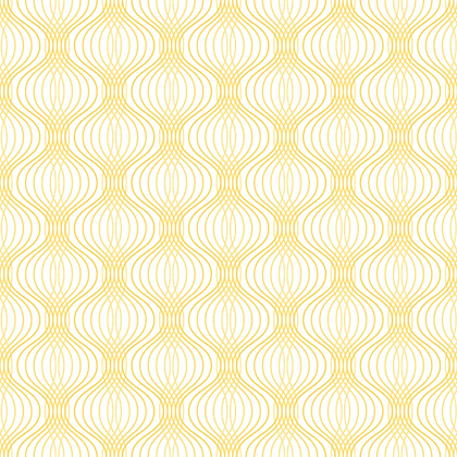 Waves Fabric Yellow