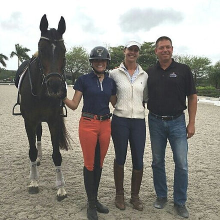 You never stop learning, Rachael, myself, JJ Tate and Chris Hassler after our lesson